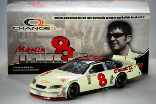 2004 - Action - NASCAR - Martin Truex Jr #8 - Chance 2 / Ralph Earnhardt - Chevy Monte Carlo Club Car - 1 of 444 - OOP - Limited EDition - New