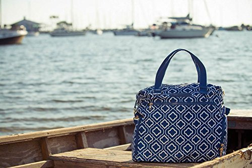 Sarah Wells Lizzy Breast Pump Bag (Navy) by Sarah Wells (Image #8)