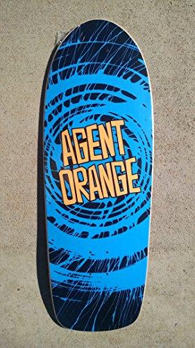 Old School Skates (NEW Agent Orange OFFICIAL Skate Punk OldSchool Skateboard Skate Deck)