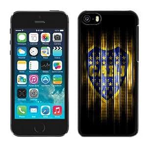 Unique DIY Designed Case For iPhone 5C With Soccer Club Boca Junior 03 Football Logo Cell Phone Case