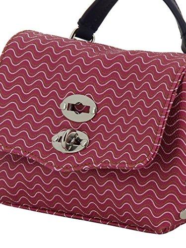 Zanellato Borsa A Mano Donna 613653D4 Tessuto Fucsia