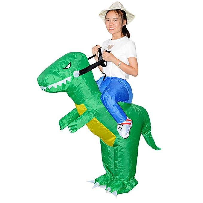 Amazon.com: FUTBER Disfraz de dinosaurio inflable para niños ...