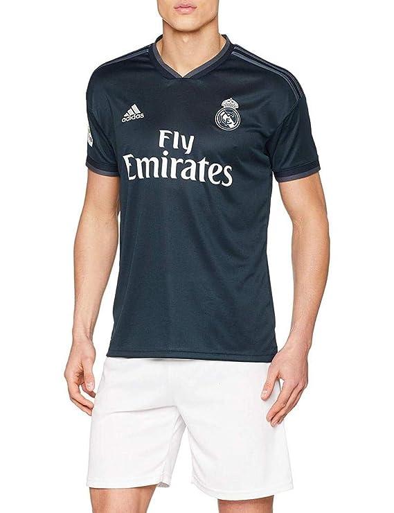 adidas 2018-2019 Real Madrid Away Football Soccer T-Shirt Jersey