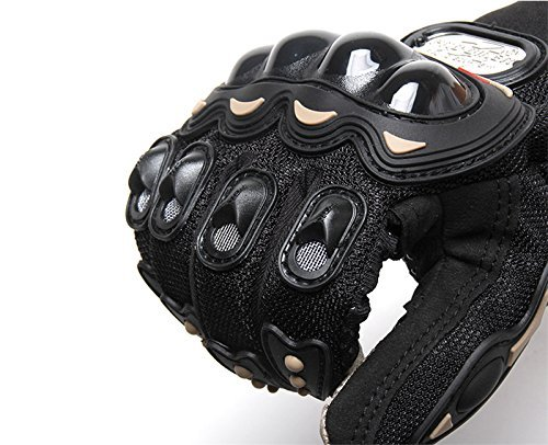 Full Finger Racing Gloves Powersports Motorcycle Training Outdoor Gloves L Black