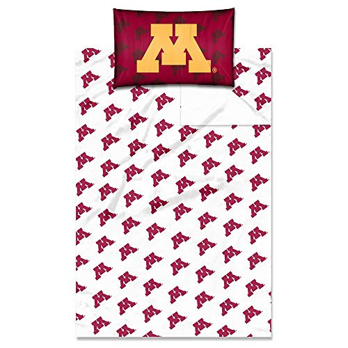 Northwest Enterprises University of Minnesota Gophers Full Size Sheet Set - NCAA Licensed