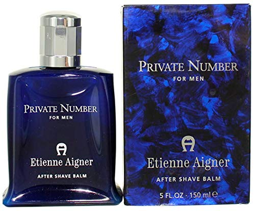 Etienne Aigner Private Number After Shave Balm for Men, 5 Ounce - Etienne Aigner Private Number