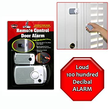 Remote Control Wireless Door Alarm System  sc 1 st  Amazon.com & Amazon.com: Remote Control Wireless Door Alarm System: Home ... pezcame.com