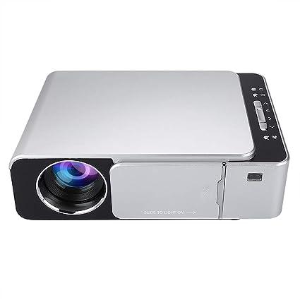 HD Portátil T6 WiFi Proyector de Espejo de Pantalla Plata ...