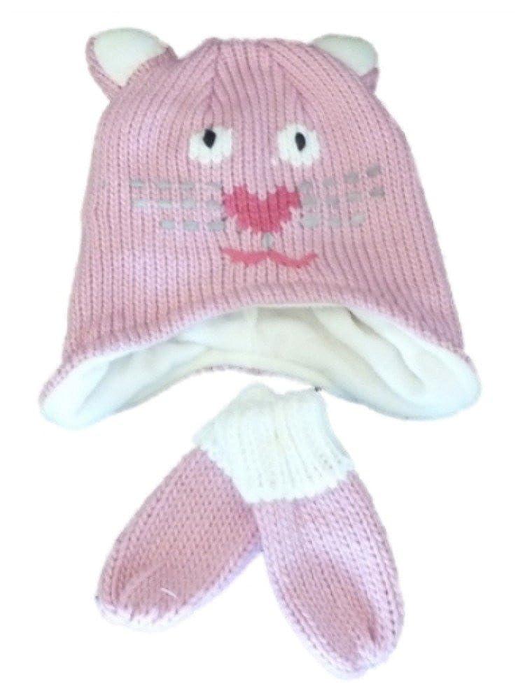 Amazon.com: Infant & bebé niñas, de color rosa Kitty Cat ...