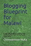 img - for Blogging Blueprint for Malawi: A Step-Step Guide to Creating Blogs, PayPal Accounts and Solving Postal Codes Issues book / textbook / text book