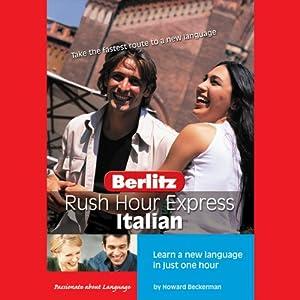 Rush Hour Express Italian Audiobook