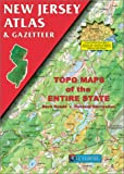 New Jersey Atlas, DeLorme Map Staff, 0899332277