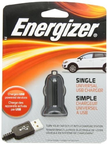Energizer Universal Car Charger Pc 2ca