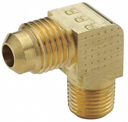 Male Pipe 45 Deg Elbow - Male Elbow 45 deg., Brass, Flare, PK10