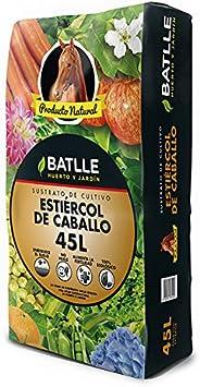 Sustratos Ecológicos - Estiercol de Caballo 45L - Batlle