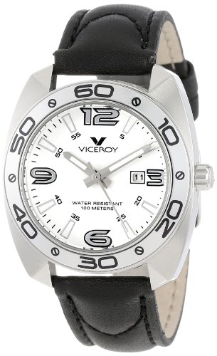 Viceroy Women's 46680-05 Communion Tonneau Stainless Steel Case Luminous - Viceroy Box