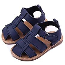 xhorizon TM FLK Toddler Baby Boys Kids Nubuck Leather Sandal Shoes