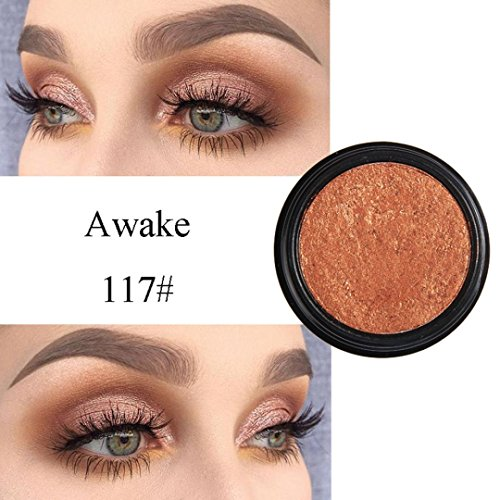 Eyeshadow Glitter Powder ,, PHOERA Glitter Shimmering Make Up Eye Shadow Powder Flash Colors Metallic Eye Cosmetic By KingWo (Q)
