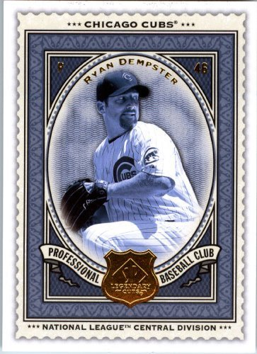 - 2009 Upper Deck SP Legendary Cuts Baseball Card # 46 Ryan Dempster Cubs - MLB Trading Card