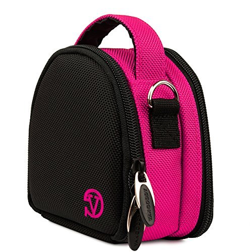 Sports Compact Carrying Case [Pink] For Garmin Ultra 30 / VIRB XE X