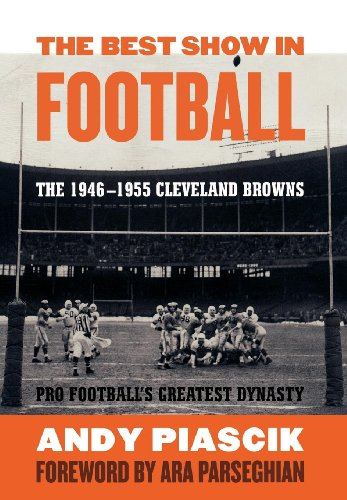Amazon Com The Best Show In Football The 1946 1955 Cleveland