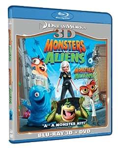 Monsters Vs. Aliens (Blu ray 3D + Dvd combo) [Blu-ray] (Bilingual)
