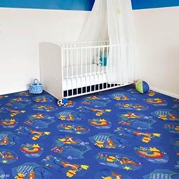 Bekannt Kinder Teppichboden Winnie Pooh blau Auslegware Kinder FU45