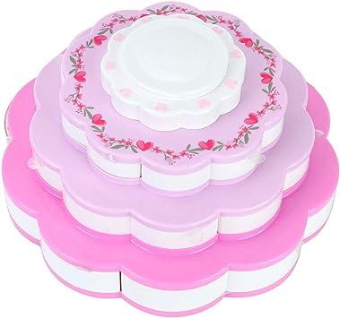 Set Princesa Lavable de Maquillaje Soluble en Agua Cosmética Juguetes Flor en Forma de Maquillaje Bolsos Kit de Belleza Accesorios para Niñas: Amazon.es: Juguetes y juegos