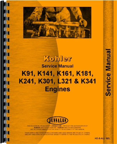 international lawn garden tractor kohler engine service manual rh amazon com kohler k301 engine repair manual kohler k301 engine repair manual