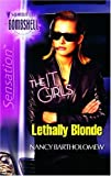 Lethally Blonde, Nancy Bartholomew, 0373513801