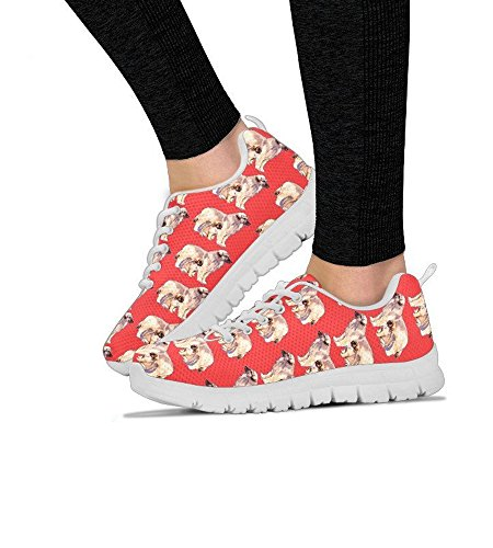 Dog Choose Shoes Breed Women's Running Pattern Print Women's Sneakers All Leonberger Shoetup Your q8ptzt