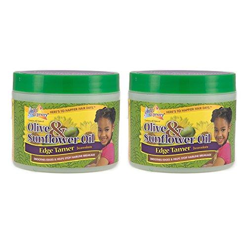 (Sofn'Free n'Pretty Olive & Sunflower Oil Edge Tamer 4 oz Pack of 2)