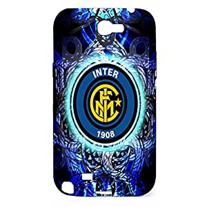 Visual Style 3D F.C Internazionale Milano Phone Case for Samsung Galaxy Note 2 N7100 Inter Milan Logo