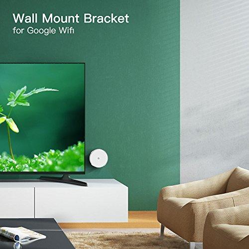 Myriann Wall Mount Bracket Wall Mount Stand Ceiling Holder For Google Wifi , White