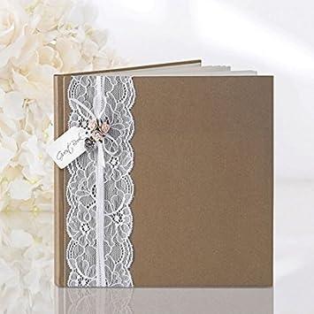 Deconzept Gastebuch Hochzeit Fotobuch Bilderbuch Hochzeitsgeschenk