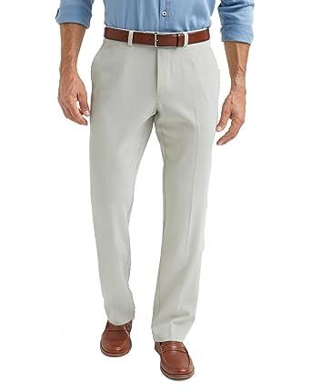 3eaef97a Tommy Bahama ST Thomas Flat Front Silk Pants at Amazon Men's ...