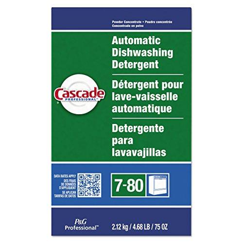 Automatic Dishwasher Cascade (Cascade Professional Automatic Dishwasher Detergent Powder, Fresh Scent, 75 oz. (Case of 7))
