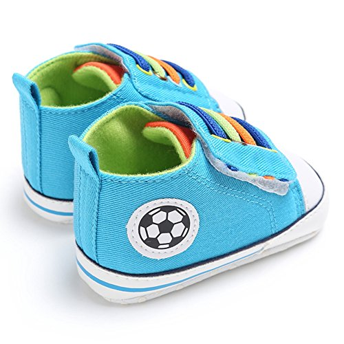 Domybest Neugeborene Baby Jungen Mädchen Säugling Turnschuhe Crib Shoes Sneakers 0-12M 02