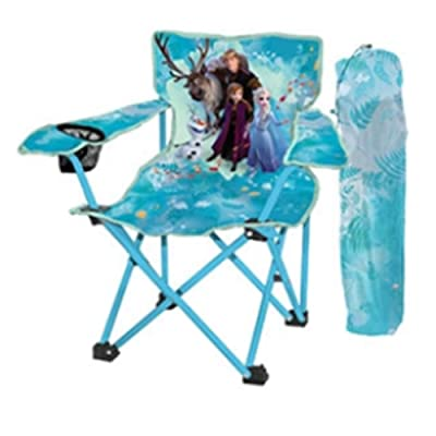Danawares Frozen Ii Camp Chair + Cup Holder Age/Grade 3-8: Toys & Games