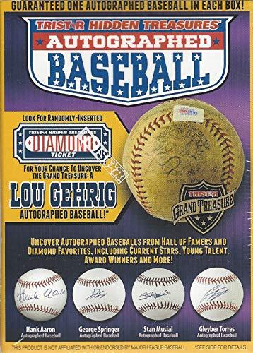 2018 Tristar Autographed Baseball box (Series 10)