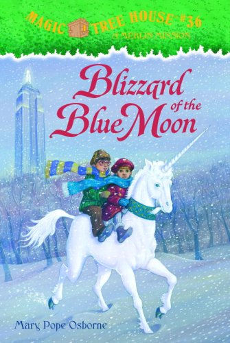 Magic Tree House #36: Blizzard of the Blue Moon (A Stepping Stone Book(TM)) PDF