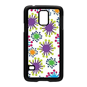 Bacteria Black Hard Plastic Case Snap-On Protective Back Cover for Samsung? Galaxy S5 by Nick Greenaway + FREE Crystal Clear Screen Protector