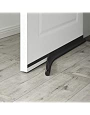 MAXTID Door Draft Blocker 32 inch Self Adhesive Door Bottom Seal Dust and Noise Insulation Window Breeze Blocker Black
