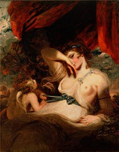 Oil Painting 'Cupid Untying The Zone Of Venus,1788 By Joshua Reynolds' Printing On High Quality Polyster Canvas , 12x15 Inch / 30x39 Cm ,the Best Gym Artwork And Home Decor And Gifts Is This High Resolution Art Decorative Prints On