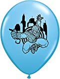 "LA Balloons 21912 ""Marvel's Ultimate Spider-Man"" Qualatex Latex Balloons (25 Pack), 11"", Multicolor"