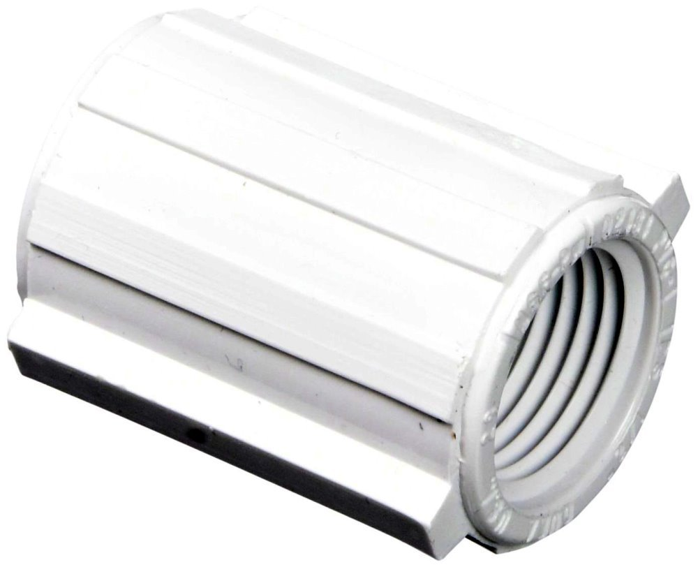 Genova Products 30127 3/4'' PVC Sch. 40 Threaded Couplings