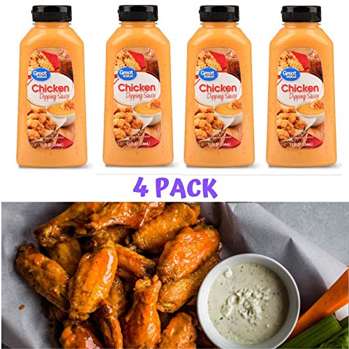 Great Value Chicken Dipping Sauce, 12 fl oz ( Pack of 4 )