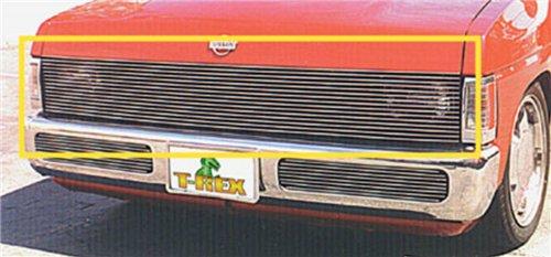 T-rex Nissan Billet Grille (TRex Grilles 20771 Horizontal Aluminum Polished Finish Billet Phantom Grille Insert for Nissan Hardbody)