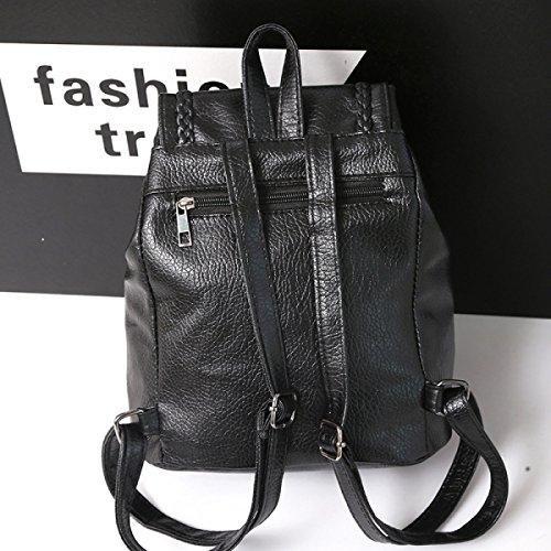 Frauschulterbeutel-Art Und Persönlichkeit Weiches Leder Rucksack Handtaschen PU