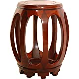 Oriental Furniture Rosewood Circular Stand – Honey For Sale